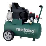 METABO 601533000 KOMPRESSZOR 1,5KW 8BAR BASIC 250-24 200L/p LEVEGŐ
